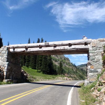 Bike at Chinook Pass